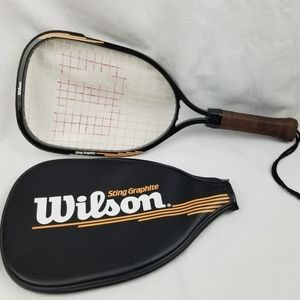 Wilson Sting Graphite Racquetball Raquet W/ Cover